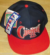 St. Louis Cardinals Vintage 90s Fitted hat sz. 7 1/2 THE GAME New with Tags! MLB