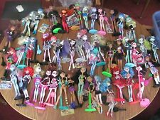 Monster High lot of 44 dolls School Coffee Shop accessories more