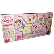 Children's Crystal & Fashion Tattoo Set - Disney Minnie Mouse
