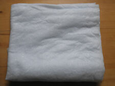 Snow blanket Christmas display white with silver glitter  90 cm x 183cm  NEW UK