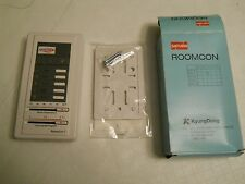 NEW QUIETSIDE ROOMCON THERMOSTAT,R/C-7P, FOR QXM8 OIL BOILERS: 85,120,150.