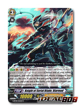 Cardfight Vanguard  x 4 Knight of Serial Blade, Diarmud - G-BT09/055EN - C Mint