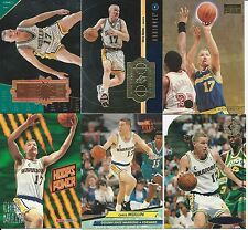 Chris Mullin 12 Card Lot SPx Finite SP Championship SkyBox Hoops Fleer Ultra