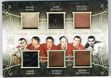 2015-16 ITG USED VINTAGE MEMORABILIA SIX GOLD MOORE BELIVEAU MAURICE RICHARD 1/1