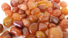 *THREE* Peach Aventurine Tumbled Stone 20mm QTY3 Healing Crystal Sacral Chakra