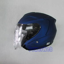 SHOEI J FORCE 4 J-FORCE Matt Blue Metallic L Large  HELMET Japan Made