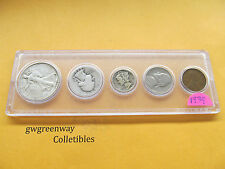 1939 Silver Birth year set 5 coins   (other years also)