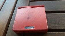 Game boy Advance SP Rouge Sans Chargeur