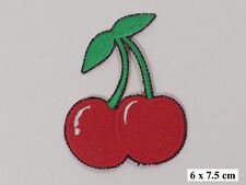CHERRYS ,EMBROIDERED Iron on/Sew on  PATCH