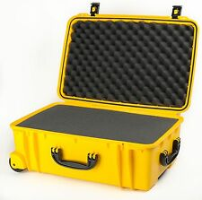 920 Yellow Seahorse SE920 Case. With Foam.