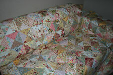 "SHABBY CHICK - 93"" x 93"" - Quilt-Addicts Pre-cut Patchwork Quilt Kit Queen size"