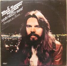 BOB SEGER AND THE SILVER BULLET BAND-Stranger In Town UK 9 Track LP EX Cond