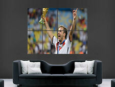 MARIO GOTZE GERMANY FOOTBALL  WORLD CUP WINNER  ART  IMAGE  LARGE WALL POSTER