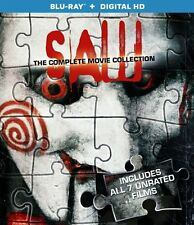 Saw The Complete 1+2+3+4+5+6+7 Unrated Film Collection Blu-ray Boxset New
