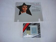 Michael Jackson Magic Beat Perfume set + Promo Shop Display Board Mega Rare