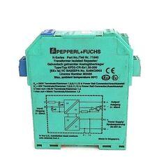 PEPPERL+FUCHS KFD2-CR-EX1.30-200 BARRIER INTRINSICALLY SAFE ISOLATED 4-20MA