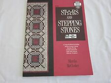 STARS AND STEPPING STONES QUILT DESIGN WORKSHOP QUILT BOOK MARSHA MCCLOSKEY 1989