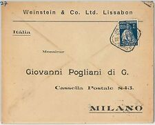 58276 -  PORTUGAL  - POSTAL HISTORY: COVER to ITALY - 1927