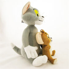 Cute Soft Tom and Jerry Plush Doll Cartoon Stuffed Animal Toy Anime Cat & Mouse