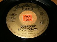 THE WHO - OUVERTURE FROM TOMMY - SEE ME FEEL ME  / LISTEN - POP ROCK