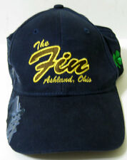 The Fin Feather Fur ® Ashland Ohio Embroidered Livestock Scene Cap Hat New NWOT