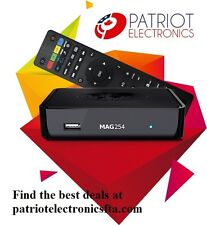 MAG254 IPTV SET-TOP BOX  with 300 Mbps WiFi antenna faster than MAG254 W1