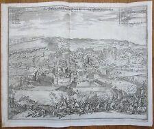 Merian: Kupferstich Festung Athlone Irland - 1690