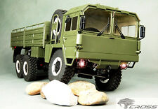 CROSS-RC MC6 6X6 Military Off Road 6WD 1/12 Scale Tractor Truck Rock Crawler KIT