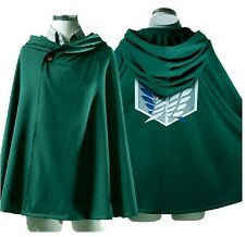 Anime Shingeki no Kyojin Cloak Cape clothes cosplay Attack on Titan  free size