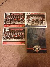 Syracuse Crunch Autographed Team Pictures 2000-2001 & 2002-2003 w/ folder