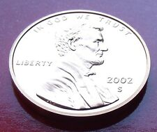 02 Choice GEM MEMORIAL CENT  PROOF USA PENNY USA  2002 S Lincoln One Penny,