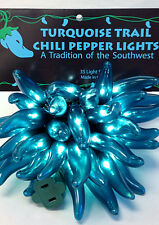 Turquoise Trail New Mexico Chili Lights String of 35  …