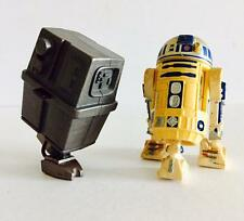 "HASBRO STAR WARS 3.75INCH POWER OF THE FORCE "" R2-D2 & GONK DROID "" - RARE"
