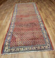 Persian Traditional Vintage Wool 323cmX105cm Oriental Rug Handmade Carpet Rugs