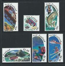 1994 NEW ZEALAND Tourism Set MNH (SG 1777-1782)