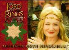 Lord of the Rings Return of the King Update Eowyn's Coronation Dress Cost.Card
