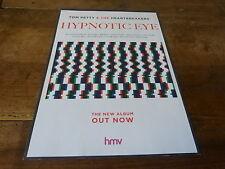 TOM PETTY & THE HEARTBREAKERS - Hypnotic eye !!! Publicité de magazine / Advert