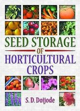 Seed Storage of Horticultural Crops-ExLibrary