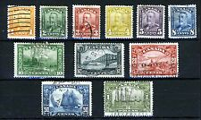 CANADA King George V 1928-29 Part Set Including BLUENOSE SG 275 to SG 285 U-VFU