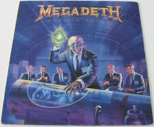 MEGADETH - Rust In Peace [Vinyl LP,1990] UK Import EST 2132 Thrash Metal *EXC