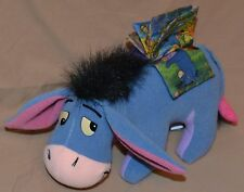 """11"""" Eeyore With Book On His Back Winnie The Pooh Plush Dolls Toys Removable Tail"""