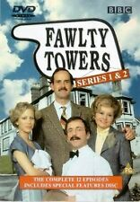 Fawlty Towers - Series 1 & 2 [1975] [DVD] John Cleese, Prunella Scales Brand New