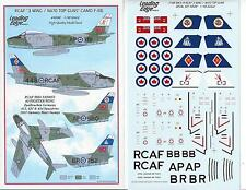 "LEADING EDGE  1/48 (48-68)  RCAF ""3 WING""  NATO TOP GUNS    F-86"