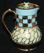 Sadler-Dorati / oro decorato caffettiera-vintage / retrò / Kitsch