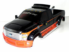 MAXTECH FORD F350 SUPER DUTY 1/10 BODY 4 SCALE CRAWLER, RC4WD, AXIAL, VATERRA
