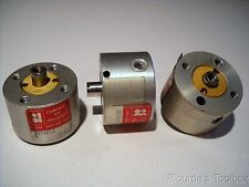 """Lot (3) Used RD34X14 Compact Pneumatic Cylinders, 3/4"""" Bore, 1/4"""" Stroke"""