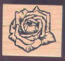 Old-fashioned ROSE! rubber stamp*