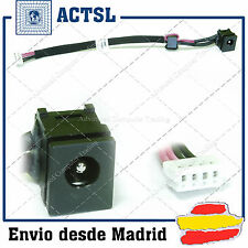 CONECTOR DC JACK  TOSHIBA Satellite A300-ST3511, A300-ST3512 (With cable)