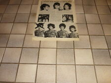 F029 THE RONETTES THE CRYSTALS FATS DOMINO VINCE TAYLOR '1964 BELGIAN CLIPPING
