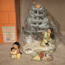 Enesco Friends of the Feather Tree Base Figurines Mini Hanging Ornaments Set-New